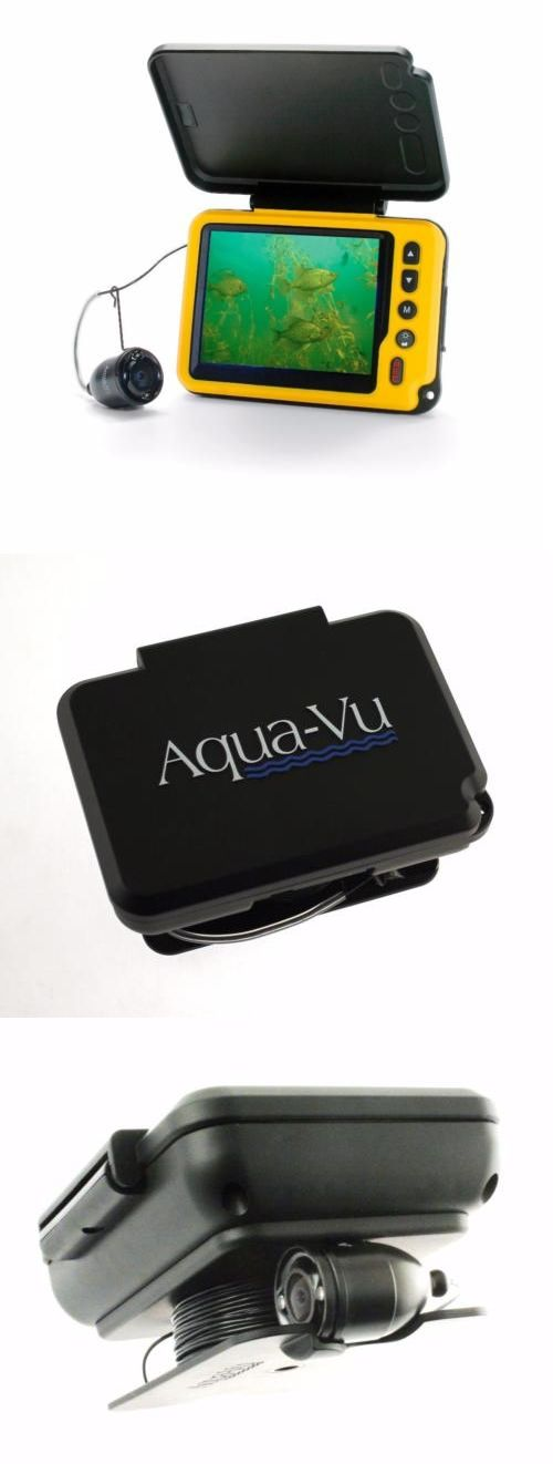 Underwater Cameras 180000: Aqua-Vu Av Micro Plus Dvr Underwater Fishing Camera 3.5-Inch Color Dvr Sunshield -> BUY IT NOW ONLY: $499.99 on eBay!