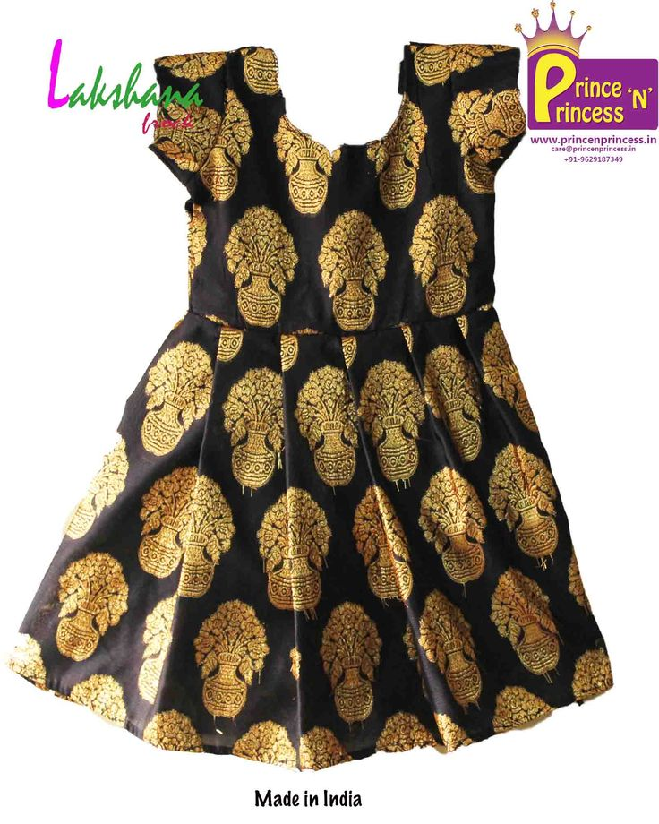 Simple and Beautiful Kids Flower Design Party Frock