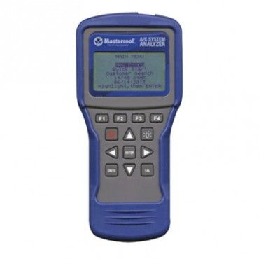 #Mastercool 52270 AC System Analyzer Calculates actual superheat and  subcool temperatures for refrigerants and provides all the functions of  a high-end anemometer: airflow volume, air velocity, dry bulb  temperature, wet bulb temperature, relative humidity and dew point.