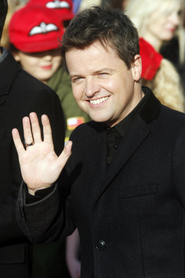 And Ant Declan Donnelly | Declan Donnelly arrives for Britain's Got Talent first round of ...