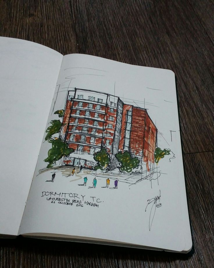 #sketch #building #archsketch #sketchbook