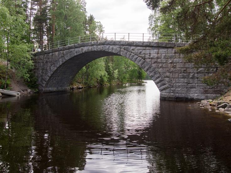 Aunessilta - Aunes Bridge in Teisko