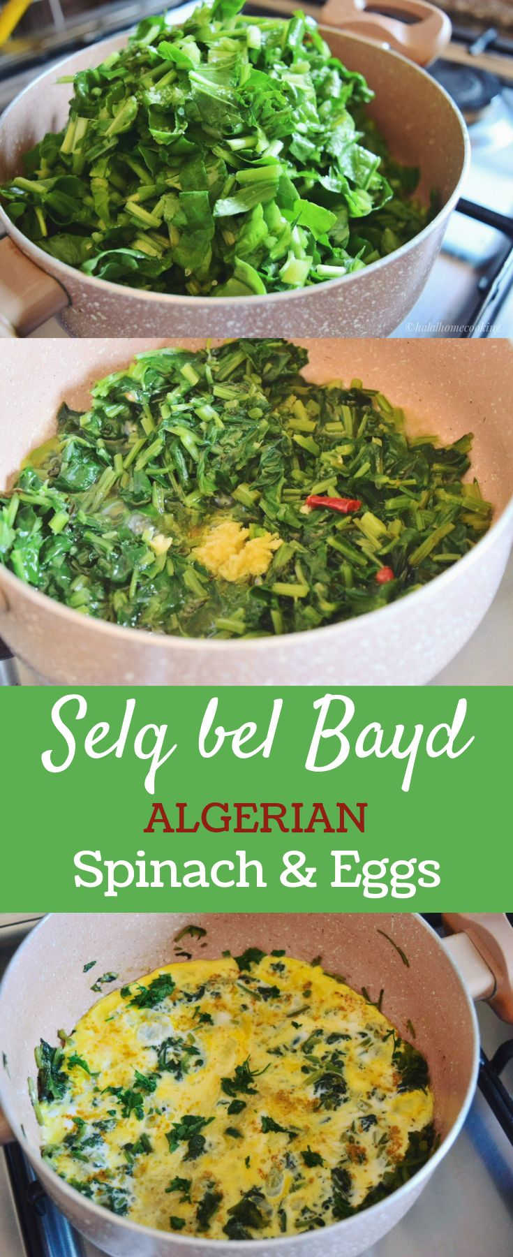 The 25 best algerian recipes ideas on pinterest algerian food selq bel bayd spinach with eggs an algerian side dish forumfinder Images