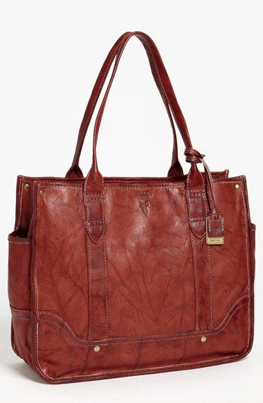 Frye 'Campus' Shopper at Nordstrom.com. Weathered Italian leather lends an instant old-favorite look to a supple shopper with plenty of room for electronics, books or a water bottle.