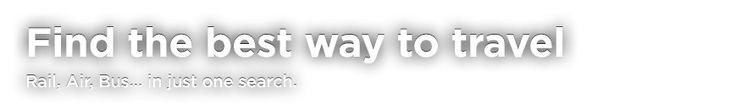 Cheap train tickets, flights & bus tickets online | GoEuro
