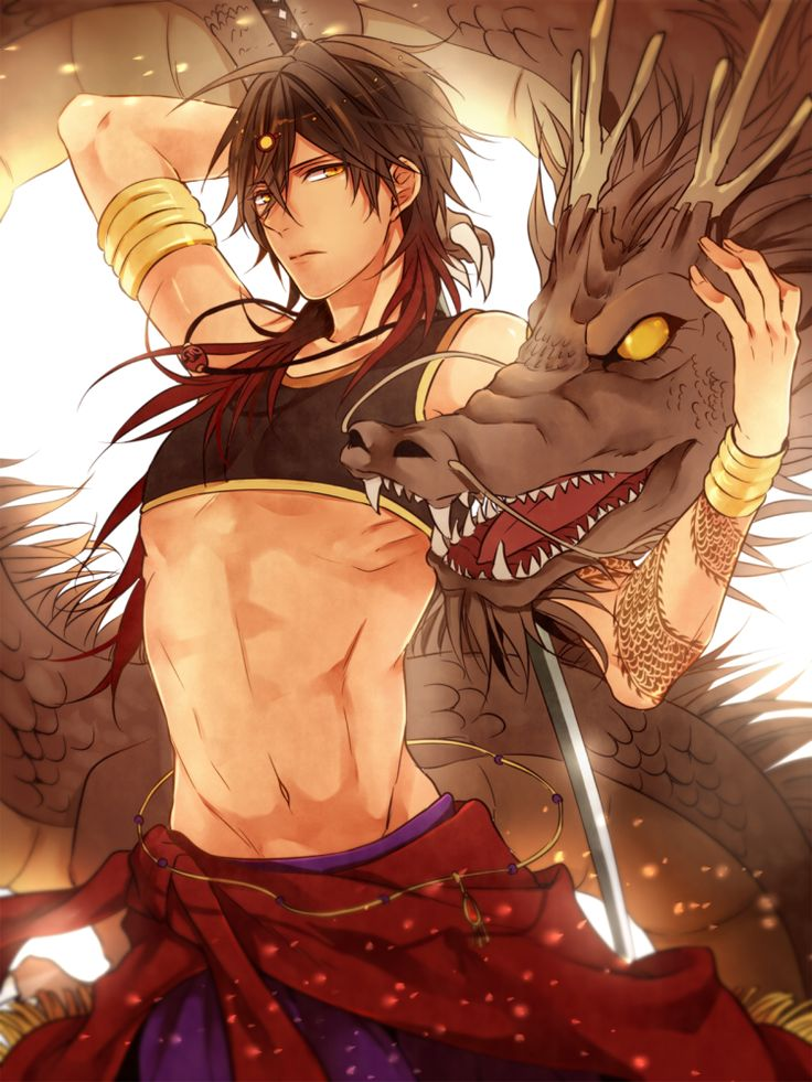 Tags: Anime, Pixiv Id 14069795, Touken Ranbu, Ookurikara, Dragon