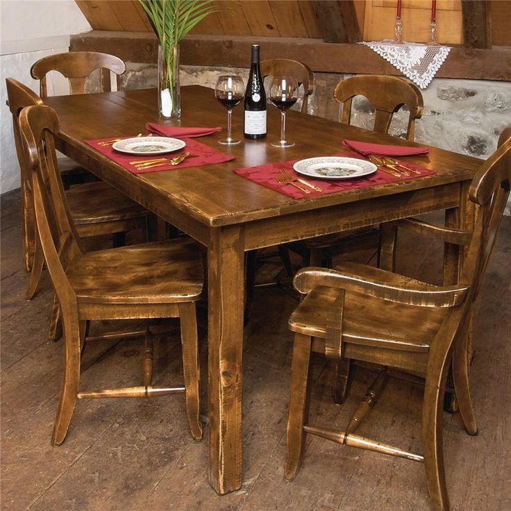 Champlain   Custom Dining Customizable Dining Table By Canadel