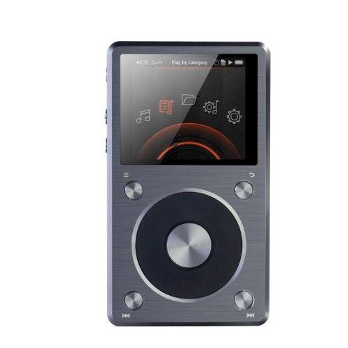 FiiO X5-II. Reproductor portátil de audio de alta fidelidad con dos ranuras microSD. #FiiO #AudioPortatil