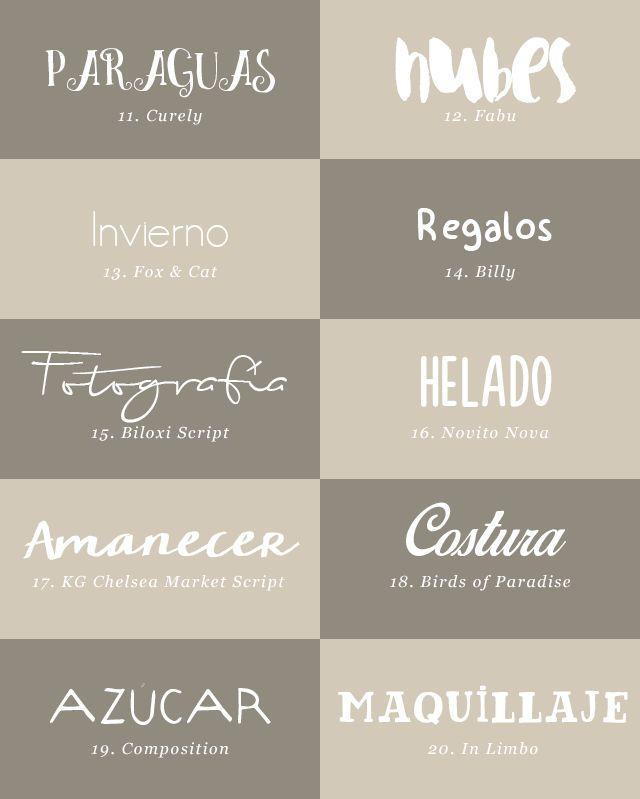 milowcostblog: recursos molongos: 40 tipografías bonitas