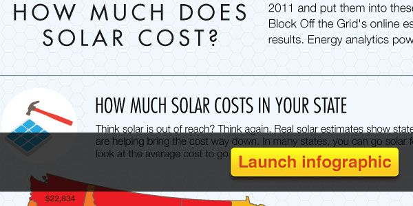 Infographic: How Much Does Solar Cost from http://1bog.org/