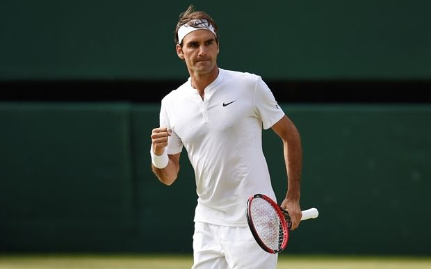 Andy Murray vs Roger Federer, Wimbledon 2015 - live: Swiss wins in straight sets - Telegraph