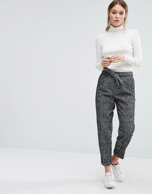 New Look | New Look Wool Fleck Pant