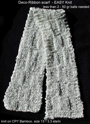 Free Knitting Pattern For Ribbon Scarf : 17 Best images about Knitting Possibilities on Pinterest ...