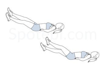 Adding scissor kicks to your workout routine helps to strengthen your core and develop several muscle groups in your torso and hips. By building a stronger core you're improving your stability, posture and balance, which in turn protects your spine and reduces the risk of back pain. http://www.spotebi.com/exercise-guide/scissor-kicks/