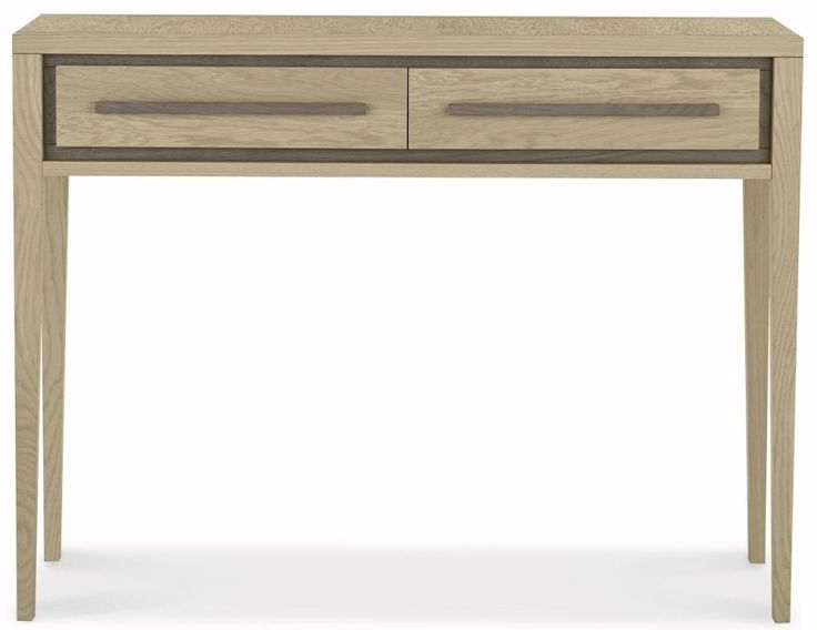 Bentley Designs Rimini Aged and Weathered Oak Dressing Table
