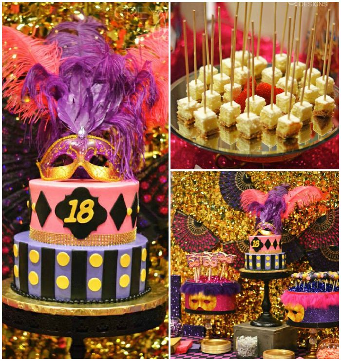 64 best images about 18th birthday on pinterest for 18th birthday cake decoration ideas