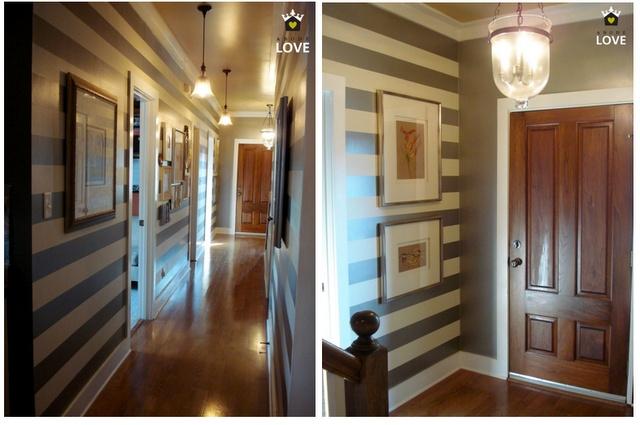 Foyer Entrance Hall Crossword Clue : Best ideas about striped hallway on pinterest