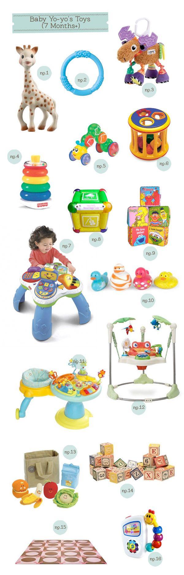 baby yo yo's toys 7 months