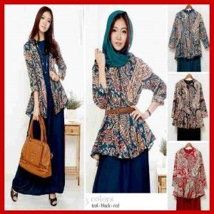 Baju Busana Muslim Batik Remaja Amalia S430