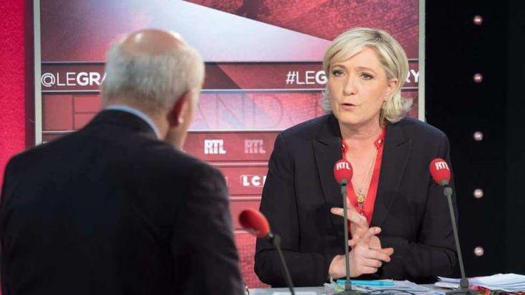 """""""La France n'est pas responsable du Vél d'Hiv"""", a déclaré Marine Le Pen dimanche 9 avril. Propos calculé ou grosse erreur de campagne ?      L'émission le Grand Jury RTL-LCI-Le Figaro allait son train ce dimanche 9 avril, plus chaotique qu'à l'habitude, Marine Le Pen..."""