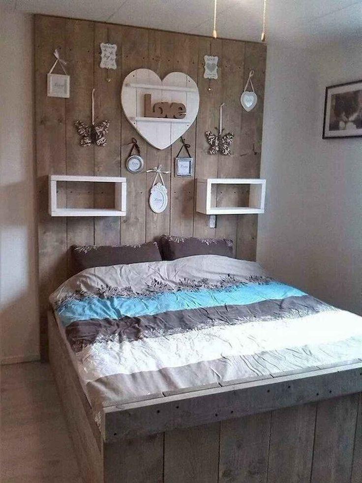 60 Most Creative DIY Projects Pallet Headboards Bedroom ...