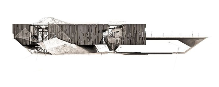 See the Winners of the 2015 KRob Architectural Drawing Competition,Digital-Mixed, Jason Jackson. Image via Ken Roberts Memorial Delineation Competition