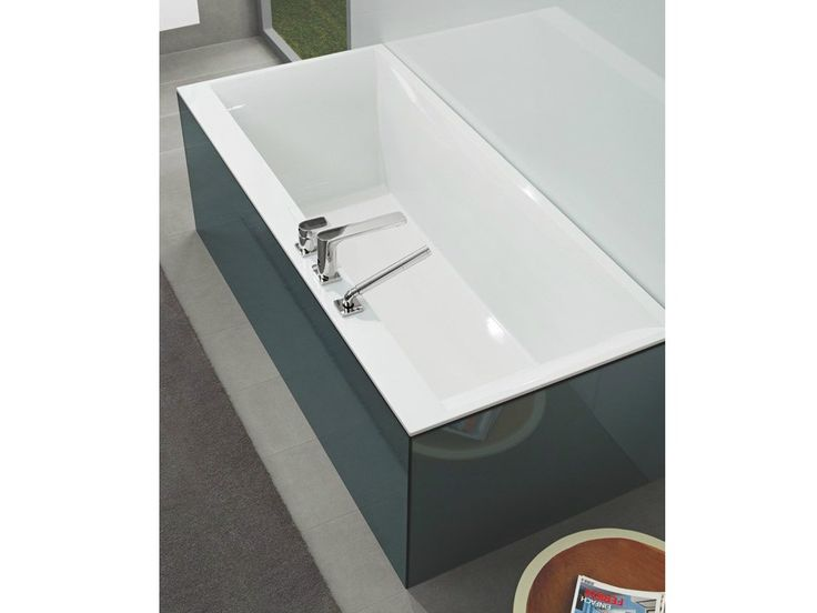 QUARYL® BATHTUB SQUARO EDGE 12 SQUARO COLLECTION BY VILLEROY & BOCH
