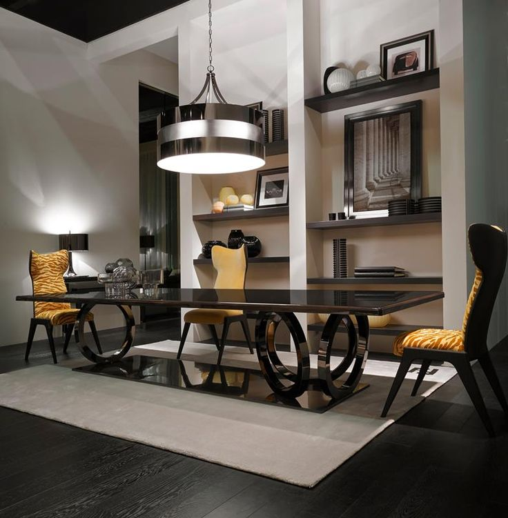 Beautiful  CASA Galileo Maxi Dining Table And Cerva Dining Chairs