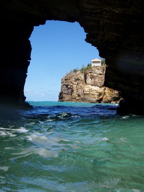 Cave at Baie Rouge  #StMaarten #Caribbean ~ http://VIPsAccess.com/luxury-hotels-caribbean.html
