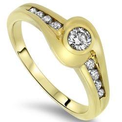 0.31cts Diamond Engagement Ring