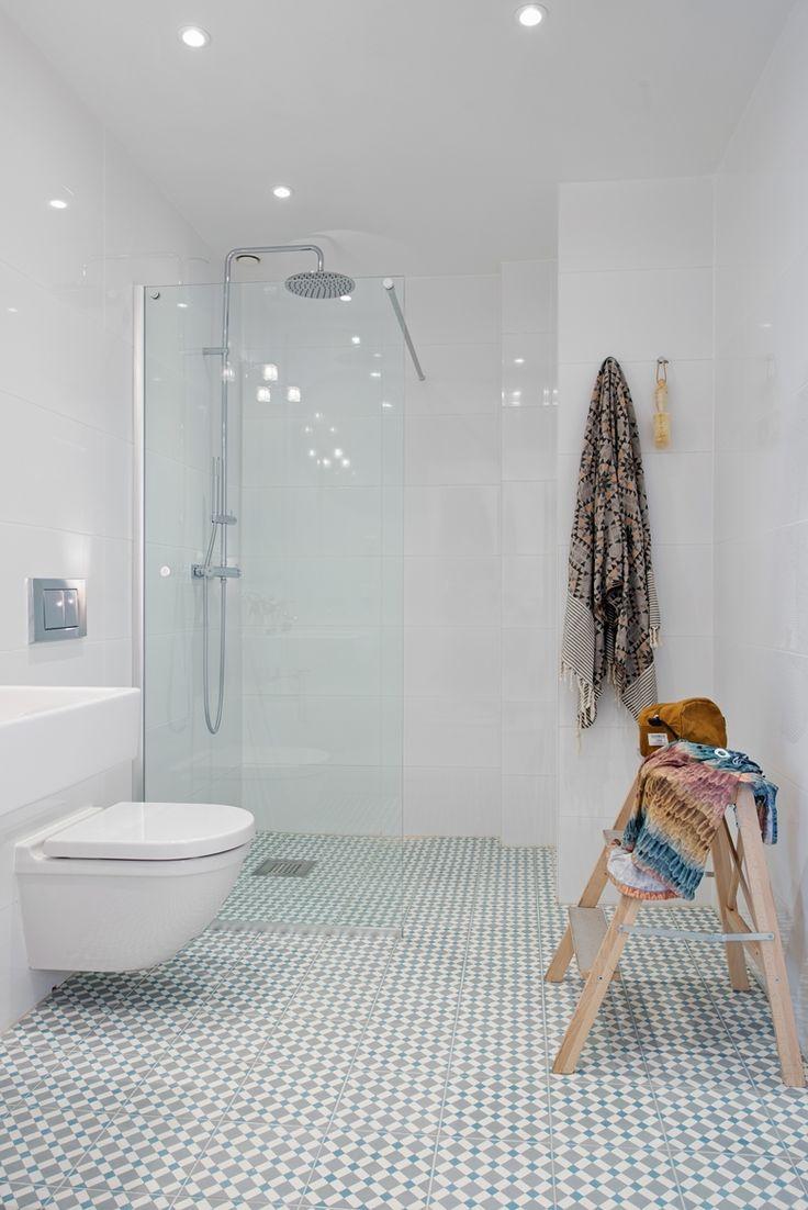 Stort och påkostat badrum, Andra Långgatan 22 b. Bjurfors.se