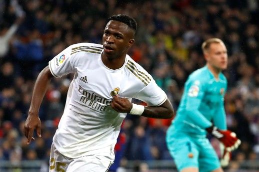 Vincius Sinks Barca As Real Go Top Real Madrid Win Real Madrid La Liga
