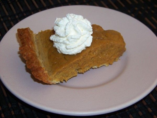 Almond Milk Pumpkin Pie - Gluten Free | Low Carb Yum