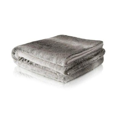 Plush Mock Fur Throw from woolworths.co.za