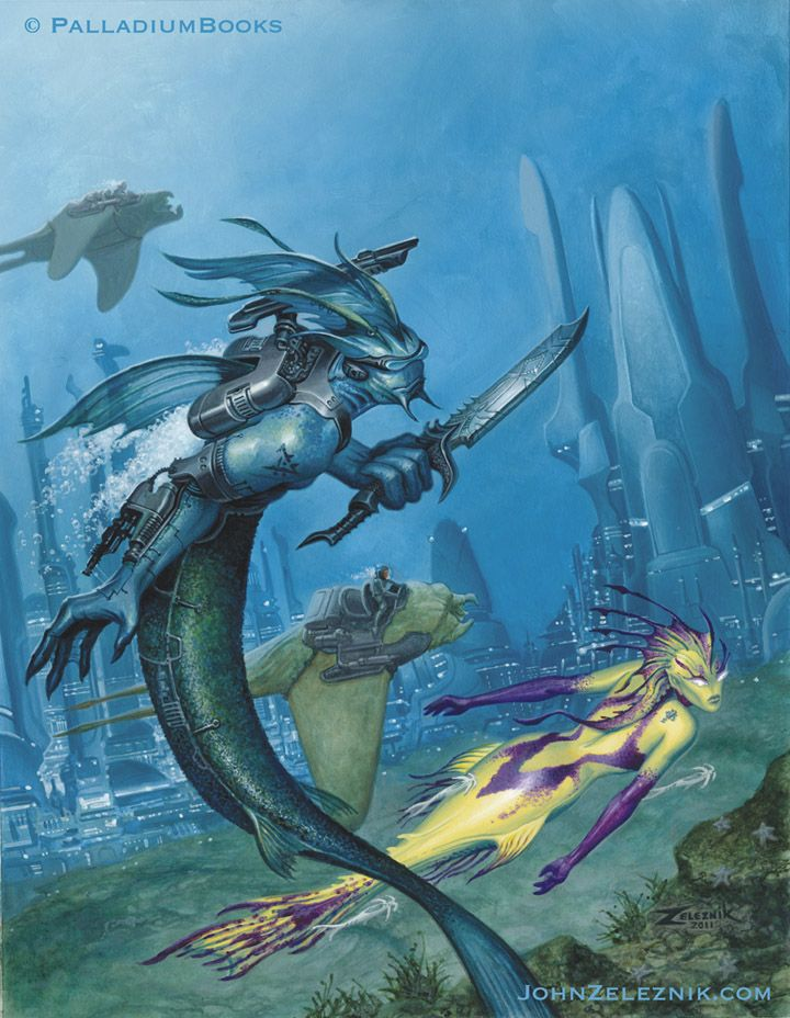 Rifts Lemuria RPG sourcebook | Rifts /Palladium Books ...