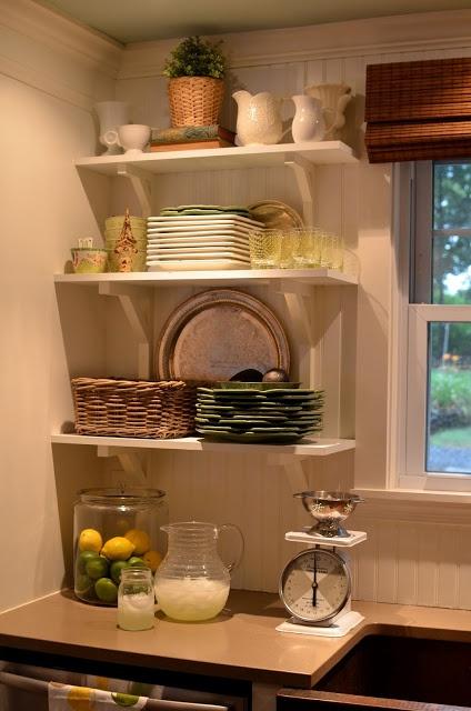 Repisas de madera ideal para espacios pequeños