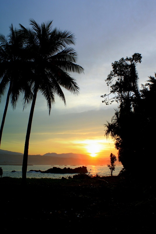 Pelabuhan Ratu (Queen's Harbor). #photography #beach #sunrise