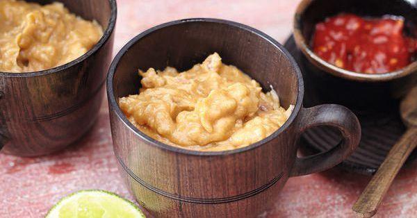 Unser exotischer Erdnussdip ist ein gern gesehener Gast bei jedem Fondueabend. Haben Sie ihn auch schon eingealden?