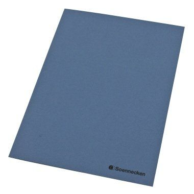 SOE Aktendeckel 1280 blau A3 auf A4 gefalzt Pa=100St