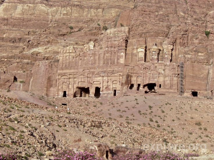 the ancient city of petra jor Photo