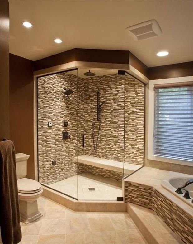 Glass Tile Bathroom Designs Amusing Inspiration