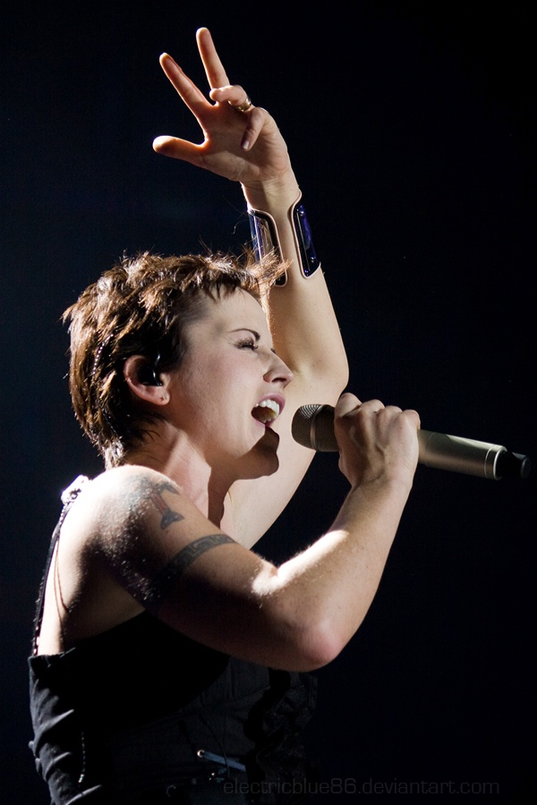 The Cranberries, Dolores O'Riordan. Saw them in Cleveland.