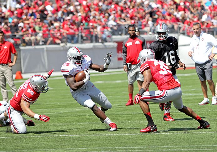 Urban Meyer focuses on individual play in Ohio State Spring Game