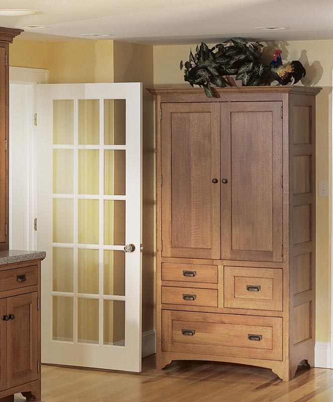 Freestanding pantry cupboard inside pinterest - Kitchen freestanding pantry ...