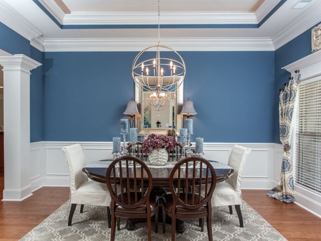 Model Home Dining Rooms 25 best dining roomsjeff benton homes images on pinterest