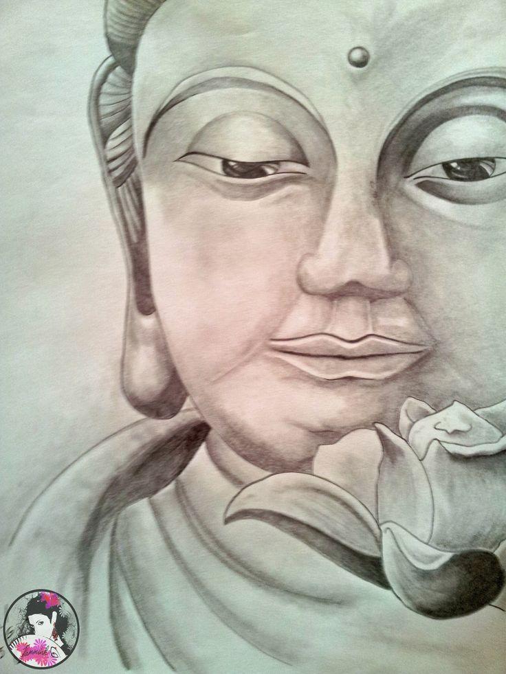 Buddha 2_13#sketch#draw#pencil