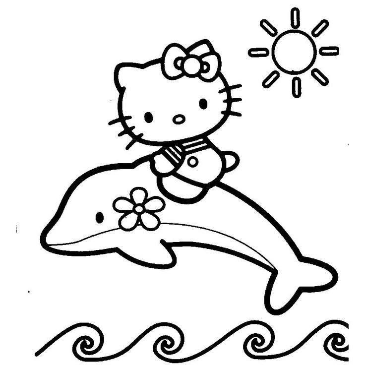 43 best Hello Kitty ! images on Pinterest Coloring books, Coloring - best of coloring pages hello kitty birthday