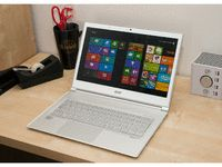 """CNET on the Acer Aspire S7:  """"...one of the sharpest-looking laptops of 2012. It's incredibly thin and light, although the glass-covered lid makes it a bit top-heavy...Everyone who has walked by and seen the S7 has been very impressed -- that's a very useful metric in an office filled with jaded reporters who see every tech device under the sun."""""""