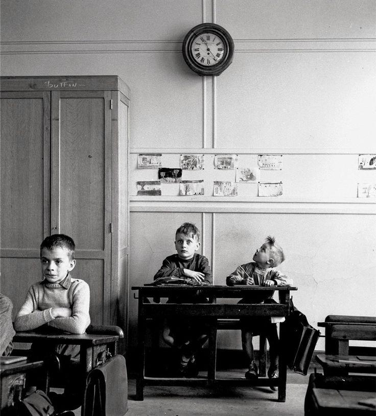 'le cadran scolaire' - paris 1956 by Robert Doisneau   via irresistible irreverence ~ Cityhaüs Design