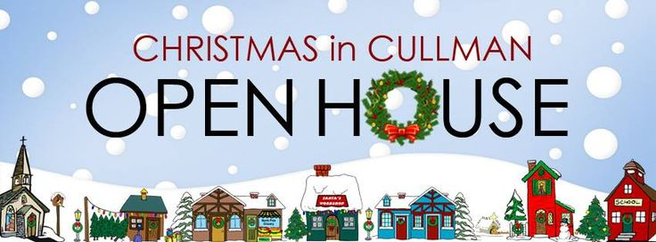 TODAY: CHRISTMAS IN CULLMAN - OPEN HOUSE  It is mid-November … that means it is the start of Christmas season in Cullman.  The Christmas in Cullman Board is hosting the annual Christmas Open House this weekend for businesses to kick-off their early shopping season for the season.  Cullman businesses will be open this weekend offering specials on Saturday and Sunday, November 12 & 13.